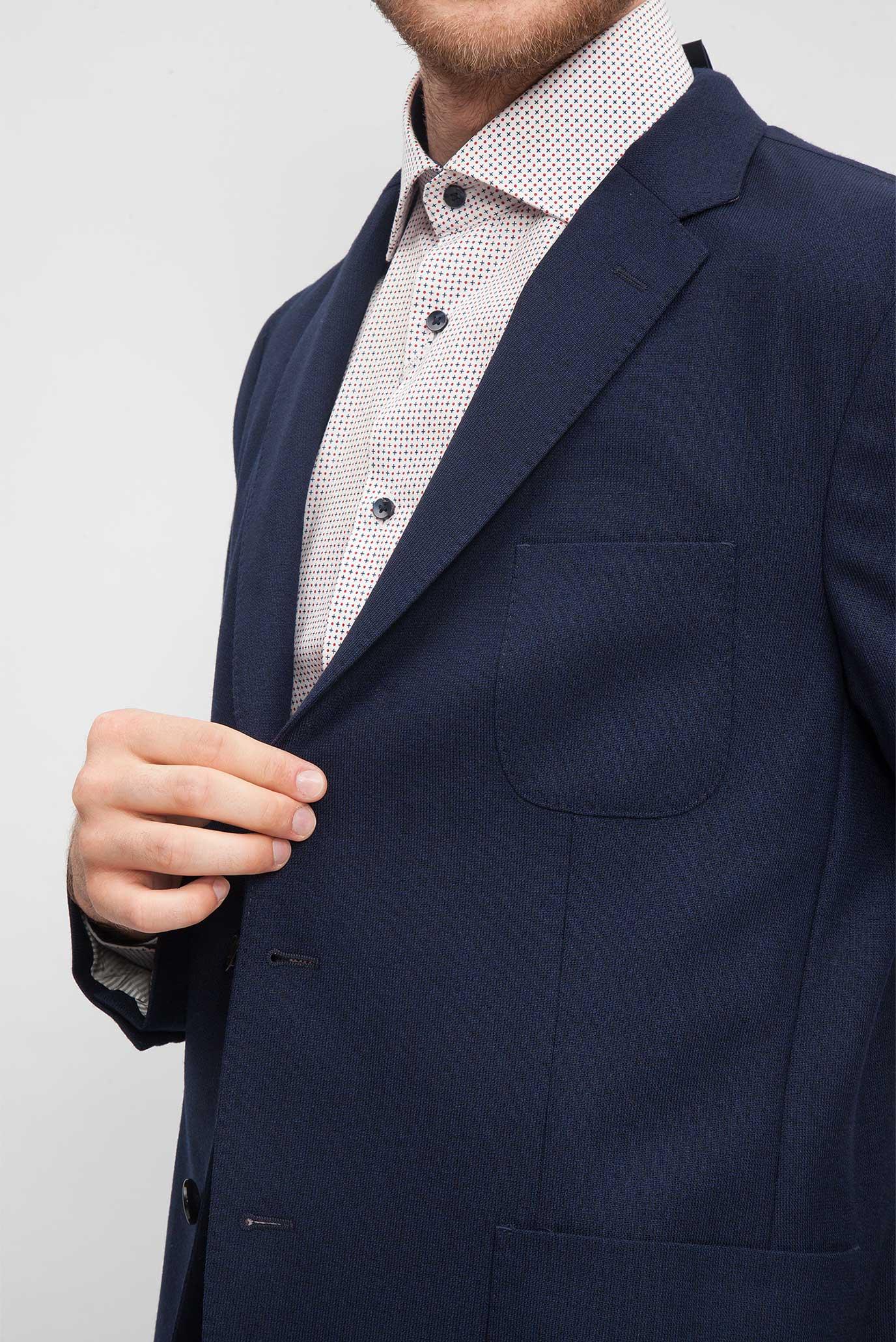 Купить Мужской синий блейзер Tommy Hilfiger Tommy Hilfiger TT0TT00031 – Киев, Украина. Цены в интернет магазине MD Fashion