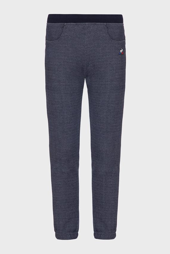 Детские синие спортивные брюки