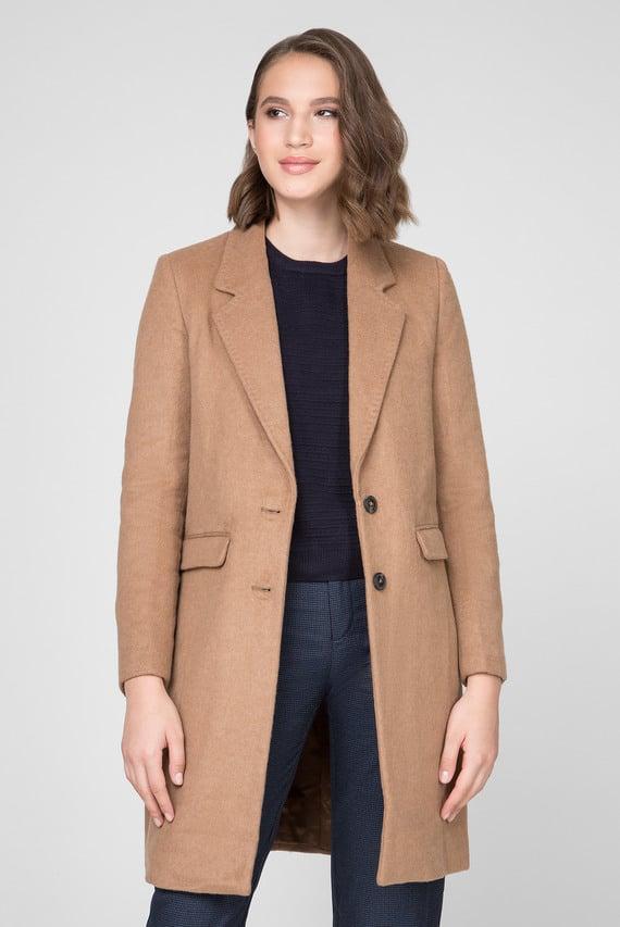 Женское бежевое пальто RORY