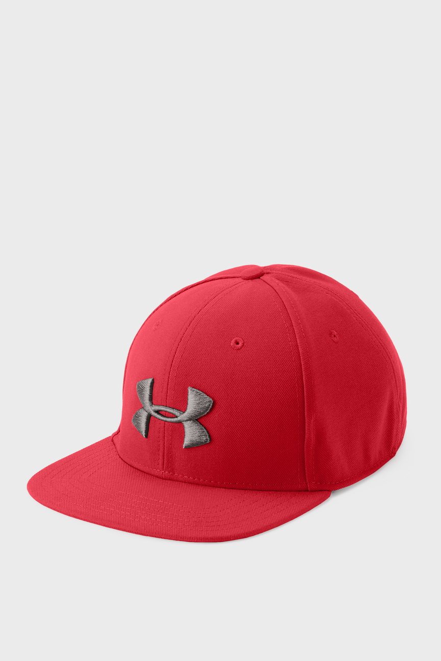 Мужская красная кепка Huddle Snapback
