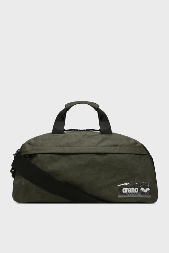 Зеленая спортивная сумка TEAM DUFFLE 25