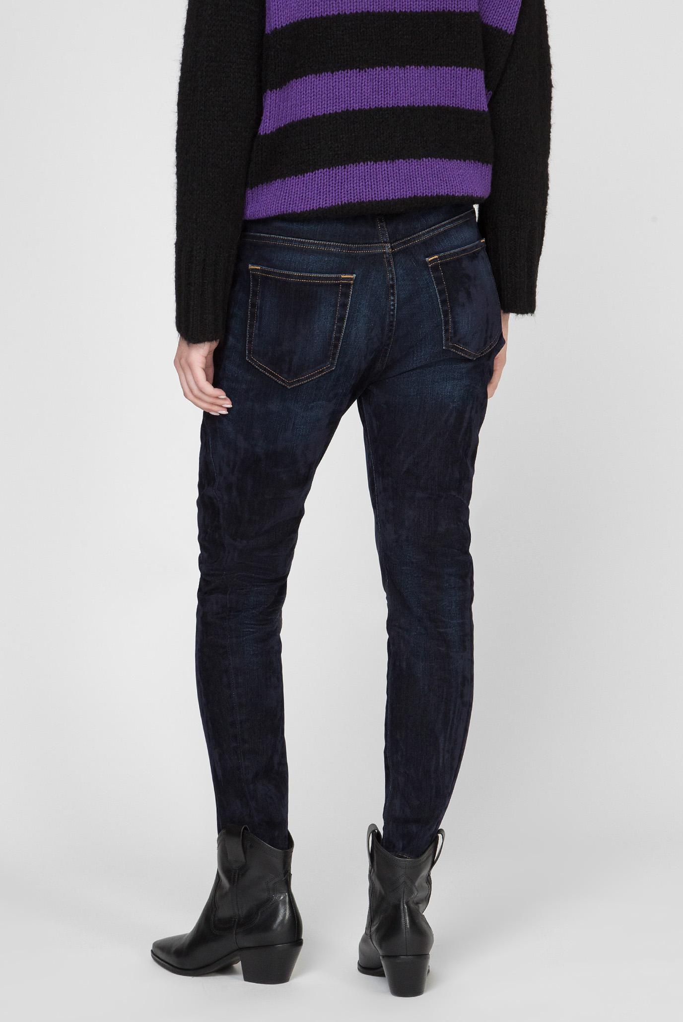 Женские темно-синие джинсы D-FAYZA Diesel