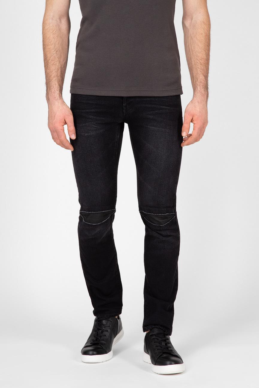Мужские черные джинсы 3301