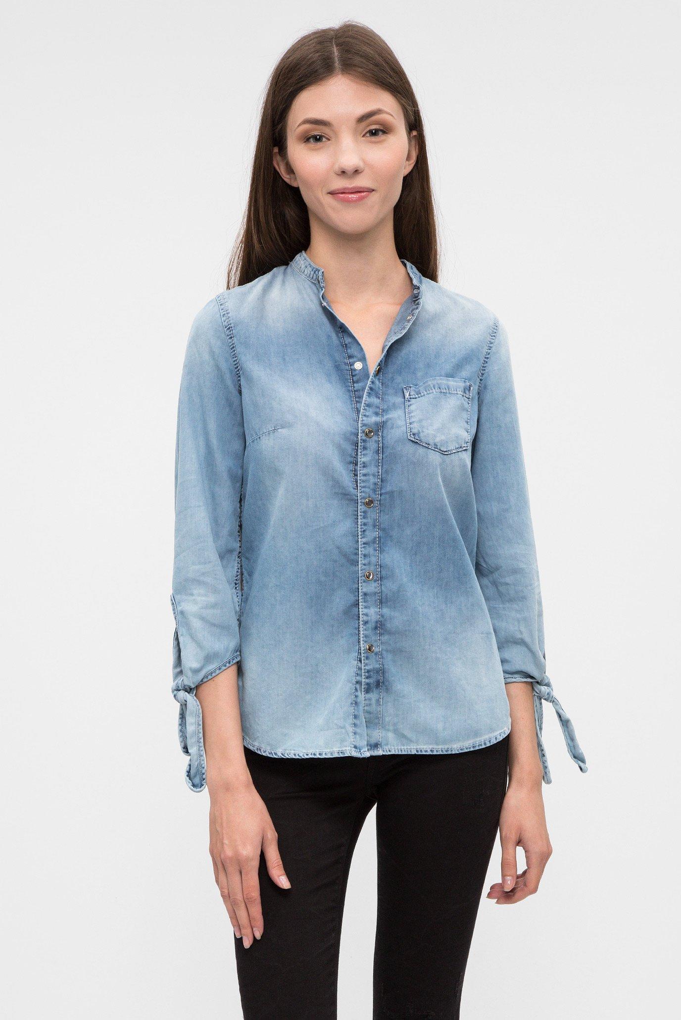 Купить Женская голубая рубашка Pepe Jeans Pepe Jeans PL302354GF9 – Киев, Украина. Цены в интернет магазине MD Fashion