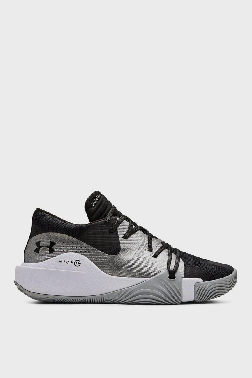Мужские черные кроссовки UA Spawn Low