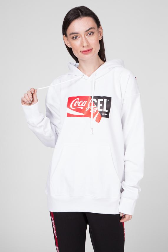 Белое худи CC-S-ALBY-COLA
