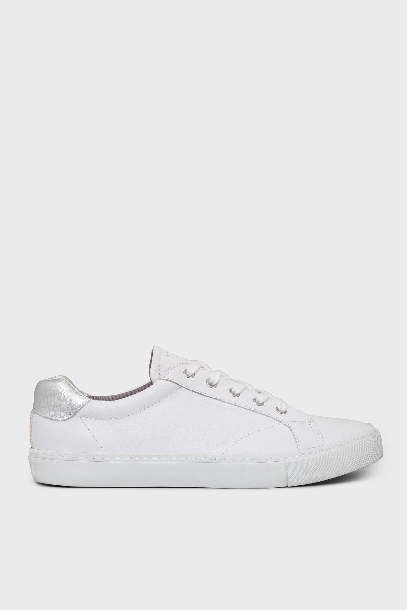 Купить Женские белые кожаные кеды Gant Gant 14531632 – Киев f0d1b5672df11