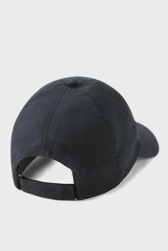 Детская черная кепка Sportstyle Cotton