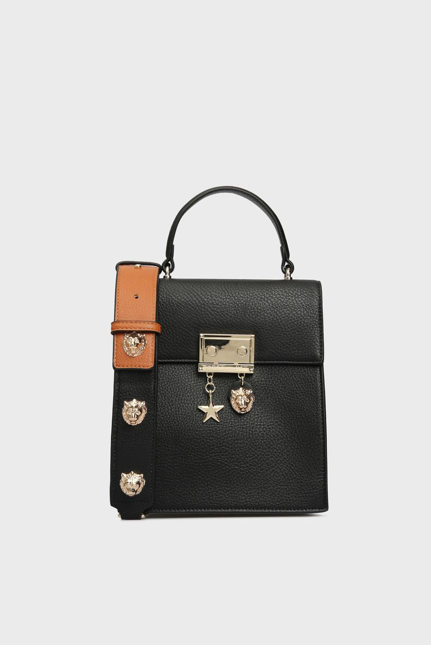 Женский черный рюкзак VIVE LE COURAGE