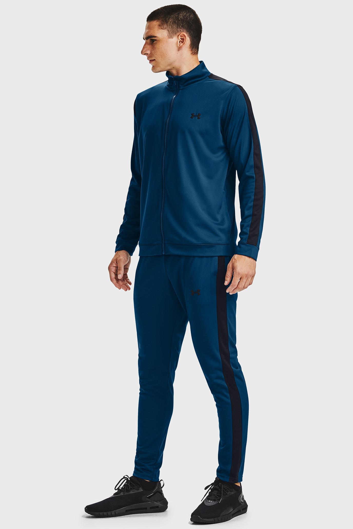 Мужской синий спортивный костюм (кофта, брюки) UA EMEA Track Under Armour