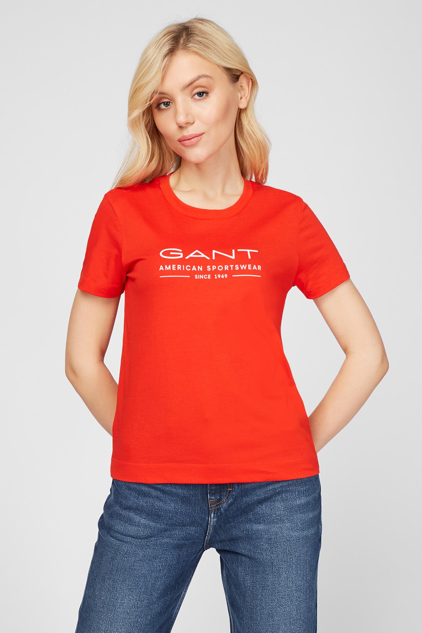 Жіноча червона футболка MD. SUMMER SS 1