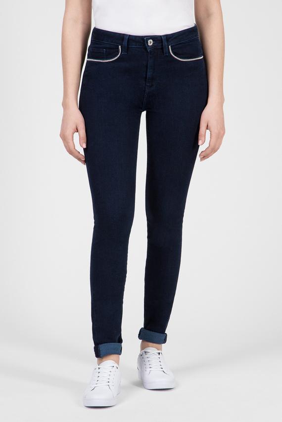 Женские темно-синие джинсы COMO RW ASTRA
