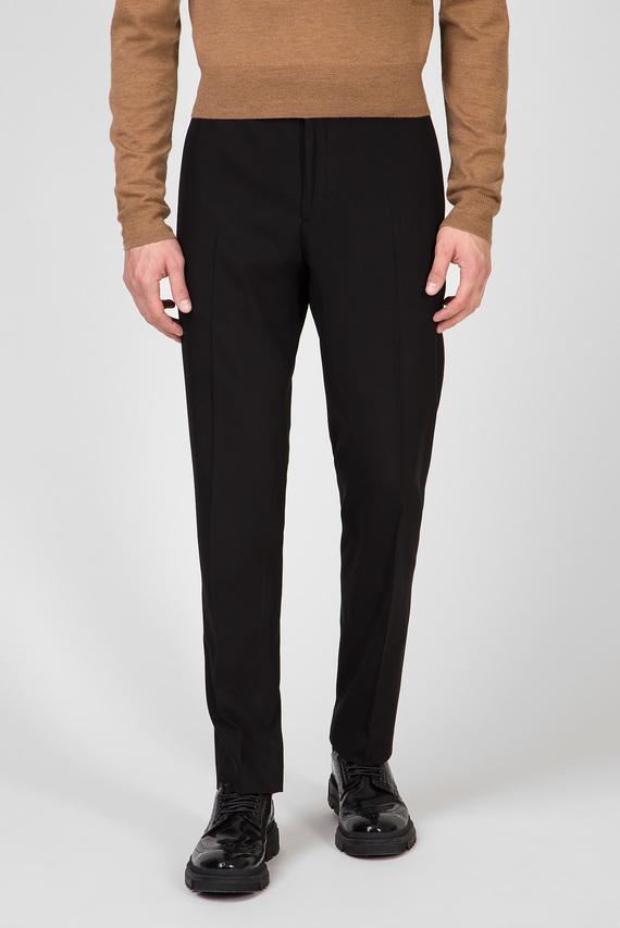 Мужские черные брюки STRETCH GABARDINE TRAVEL