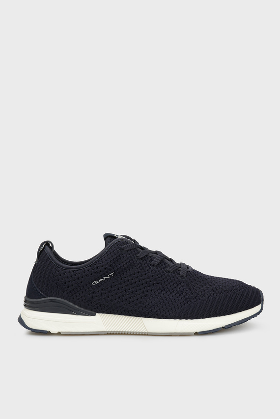 Мужские темно-синие кроссовки BRENTOON