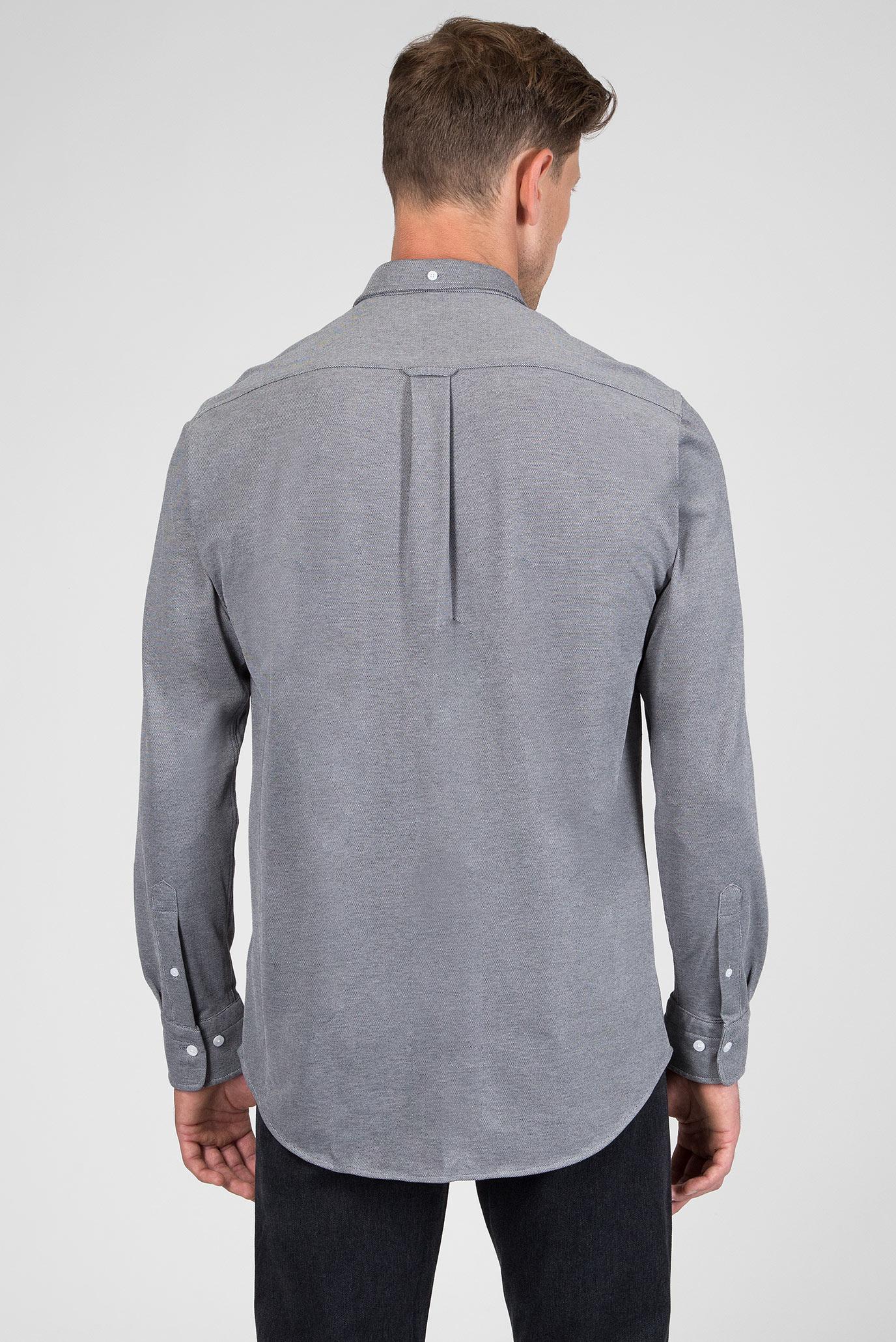 Купить Мужская серая рубашка Gant Gant 3002560 – Киев, Украина. Цены в интернет магазине MD Fashion