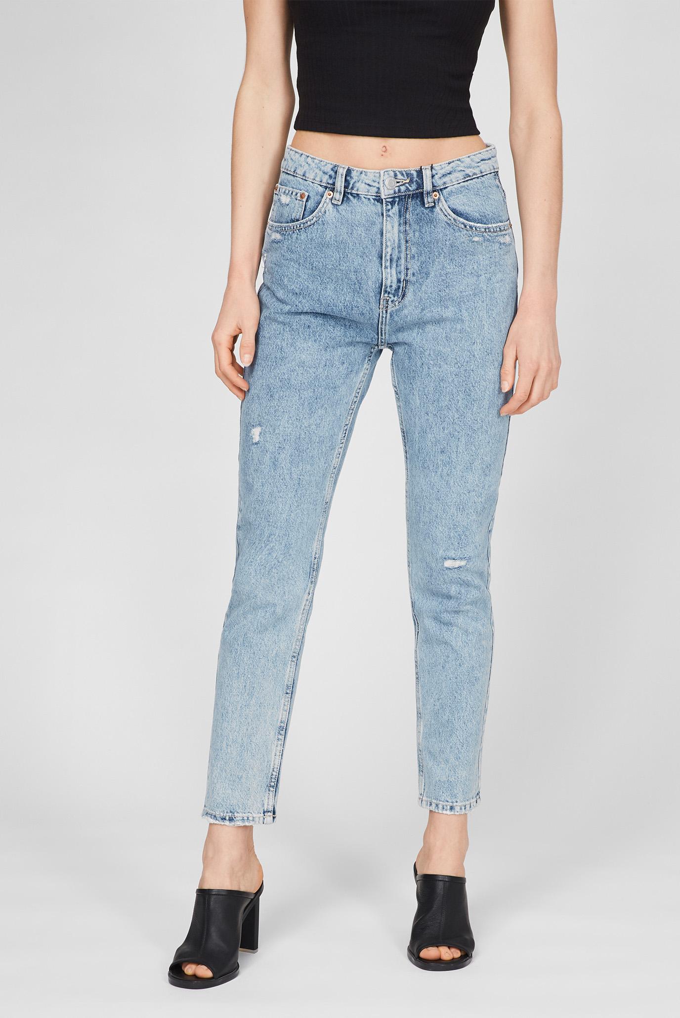 Женские голубые джинсы Blue 1