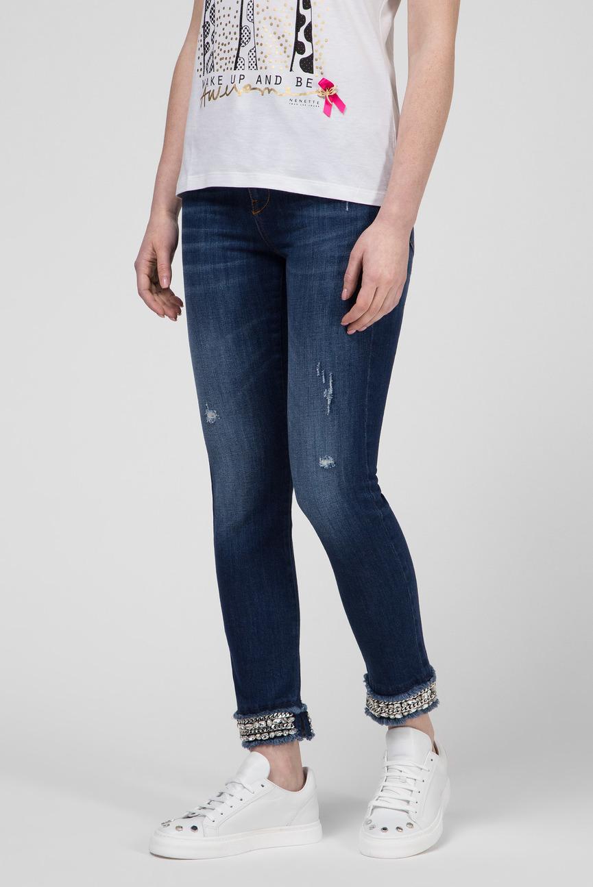 Женские синие джинсы SALIS