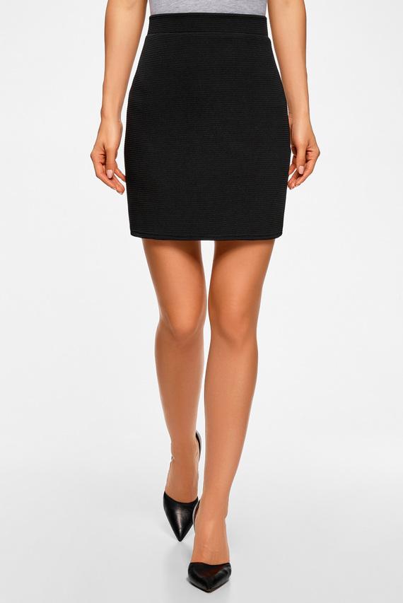 Женская черная юбка