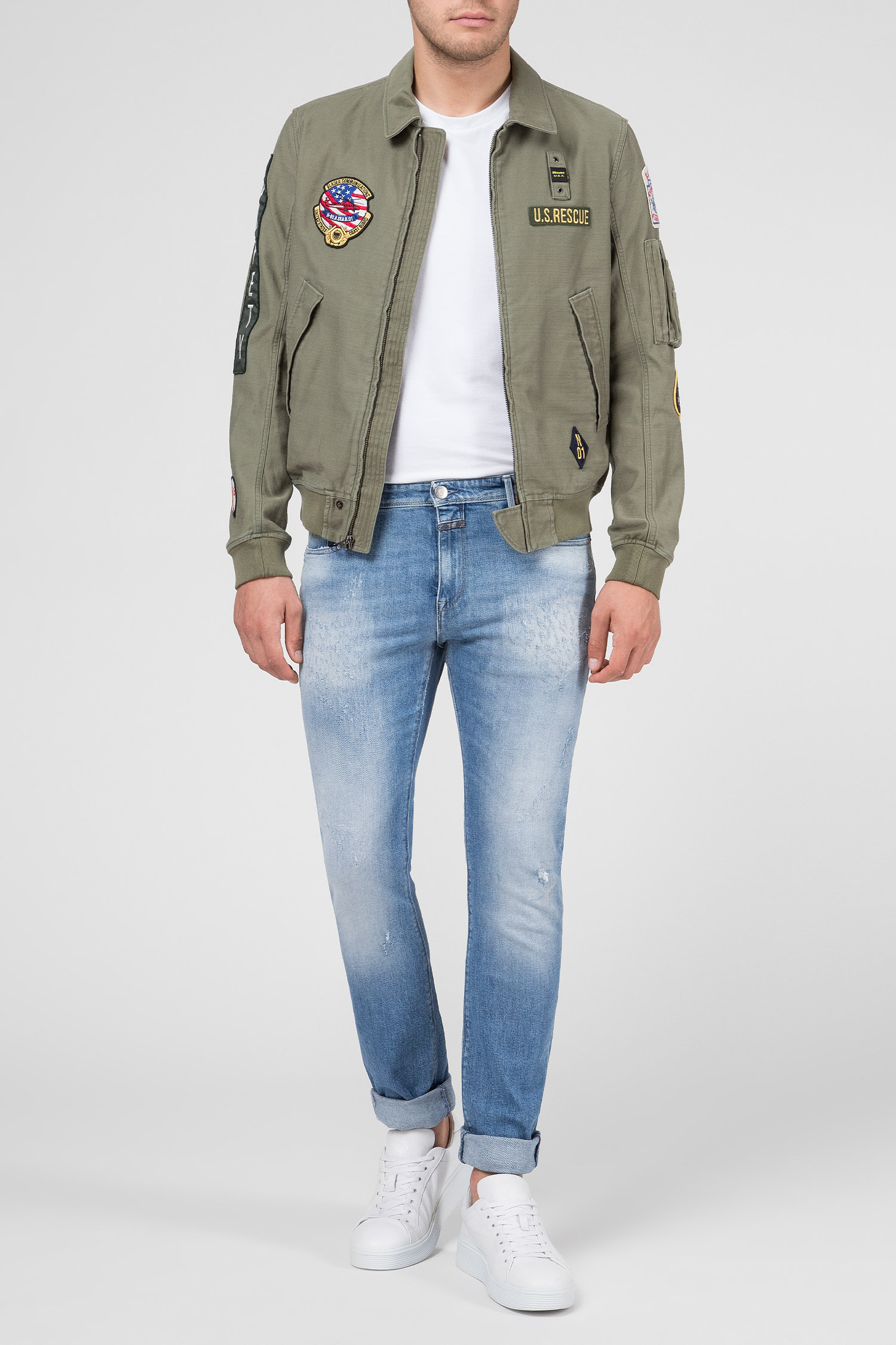 Купить Мужские голубые джинсы UNITY CRAFTED Closed Closed C32024-05X-7A-7A – Киев, Украина. Цены в интернет магазине MD Fashion