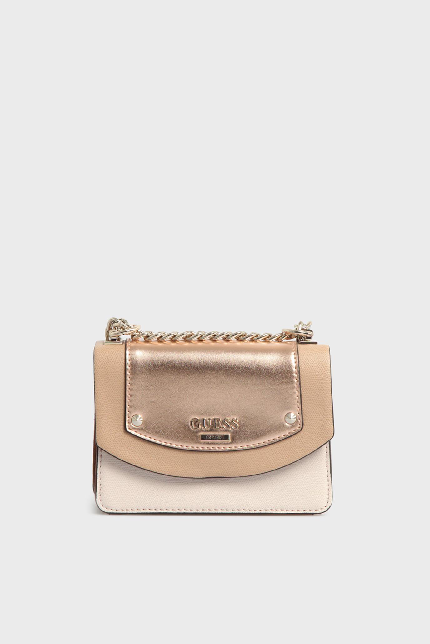 dfdd9c90 Купить Женская золотистая сумка через плечо Guess Guess HWMG6690780 – Киев,  Украина. Цены в интернет магазине MD Fashion