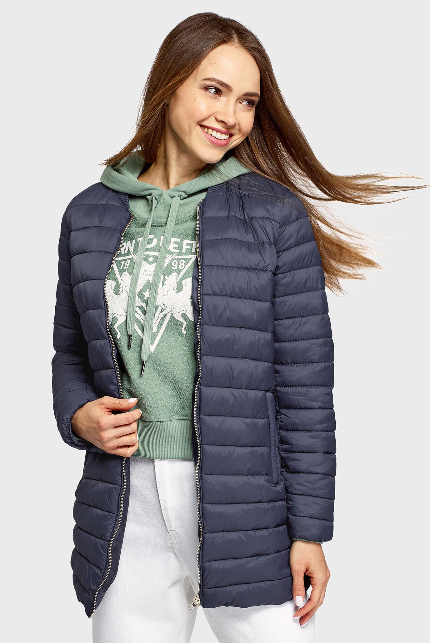 Женская синяя куртка 1