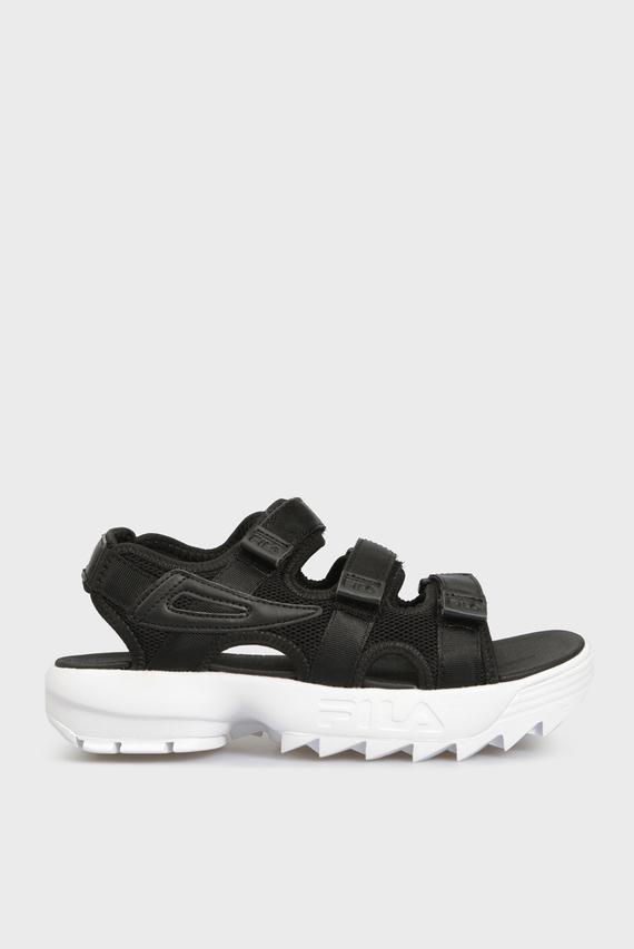 Женские черные сандалии DISRUPTOR