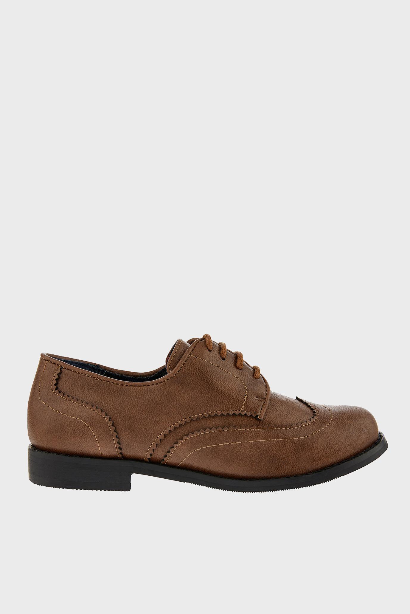 Детские коричневые туфли BOY BROGUE 1