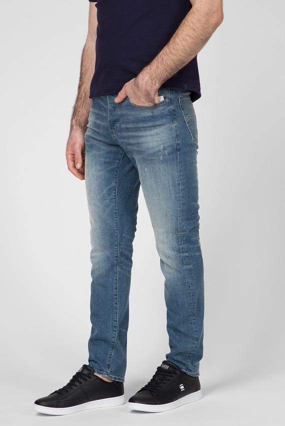 Мужские синие джинсы Kilcot straight Tapered