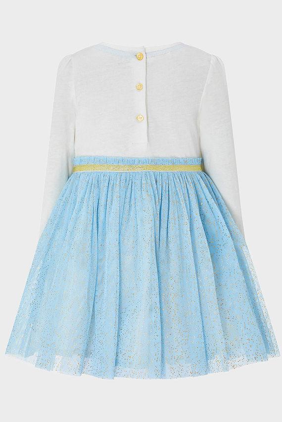 Детское голубое платье BABY AMELIA DISCO
