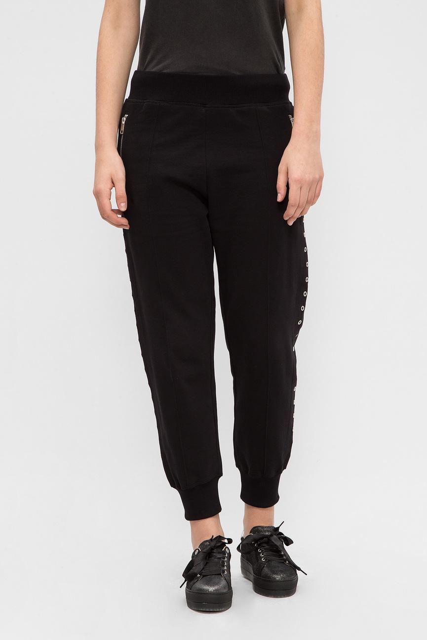 Женские черные спортивные брюки P-NAILY