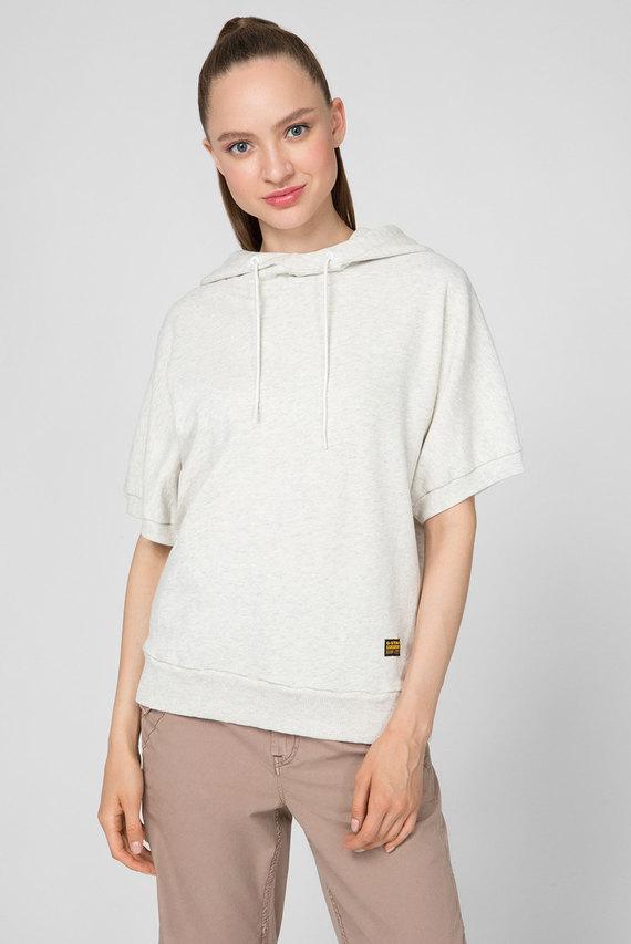 Женское белое худи Jasmar hooded