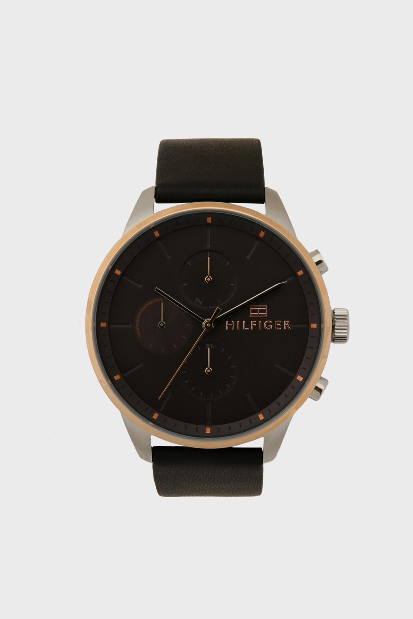 Чоловічий чорний годинник 1