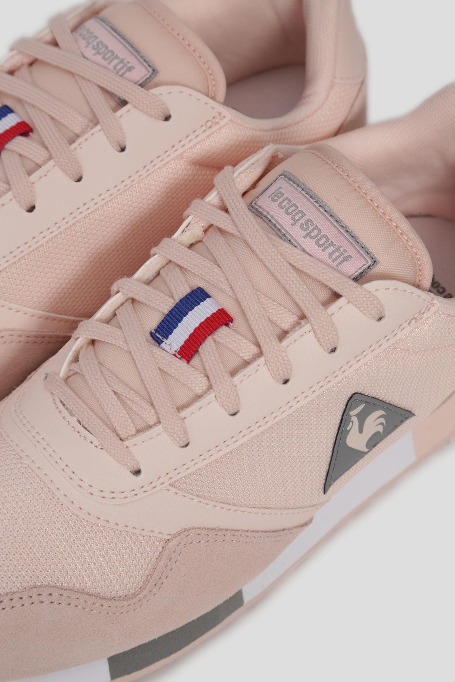 Женские розовые кроссовки DELTA W SPORT Le Coq Sportif