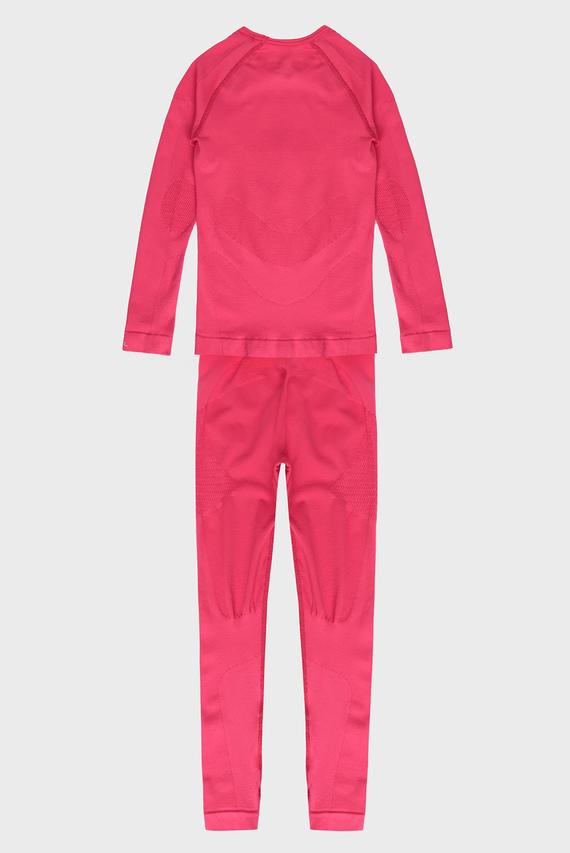 Детское розовое термобелье (лонгслив, брюки) Maximum Warm