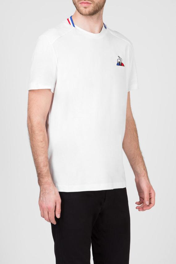 Мужская белая футболка TRICOLORE T-SHIRT