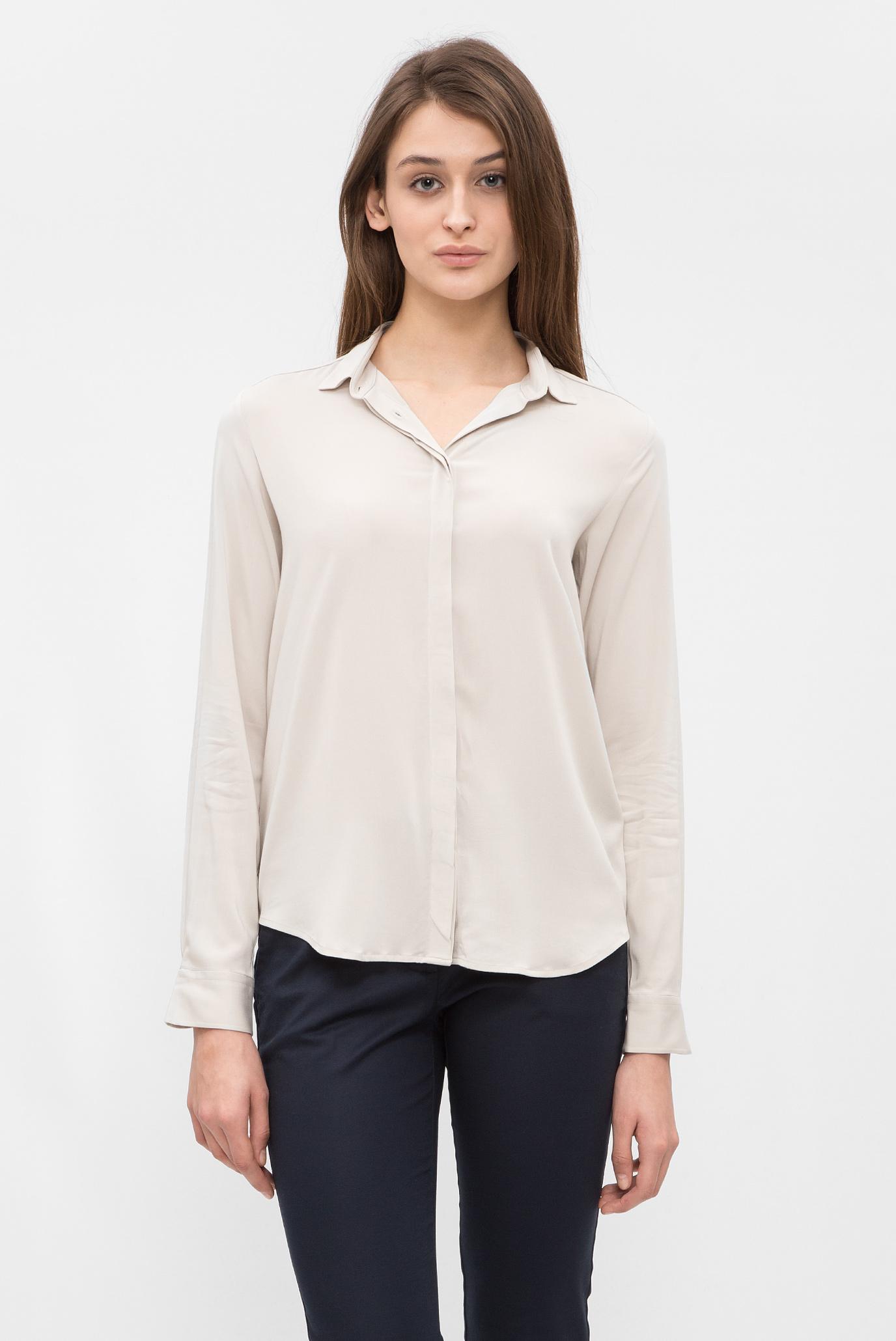 Купить Женская серая блуза Gant Gant 432565 – Киев, Украина. Цены в интернет магазине MD Fashion