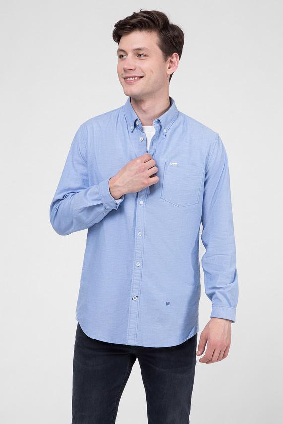 Мужская голубая рубашка JAYSON