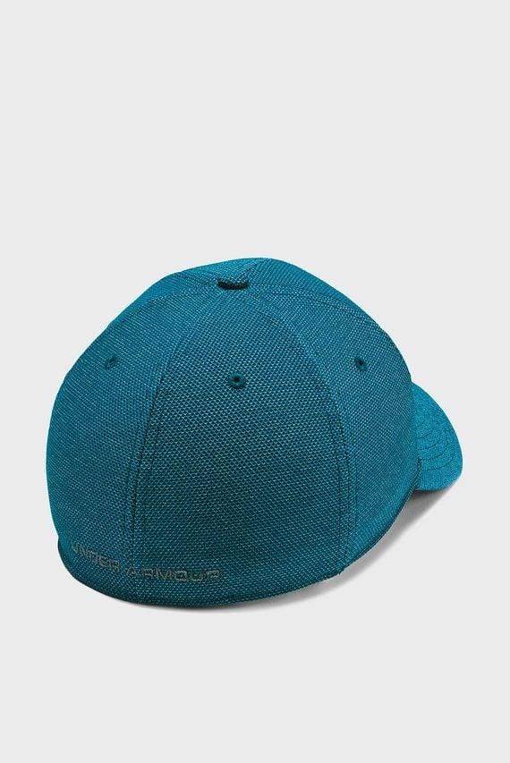 Мужская синяя кепка UA Heathered Blitzing 3.0
