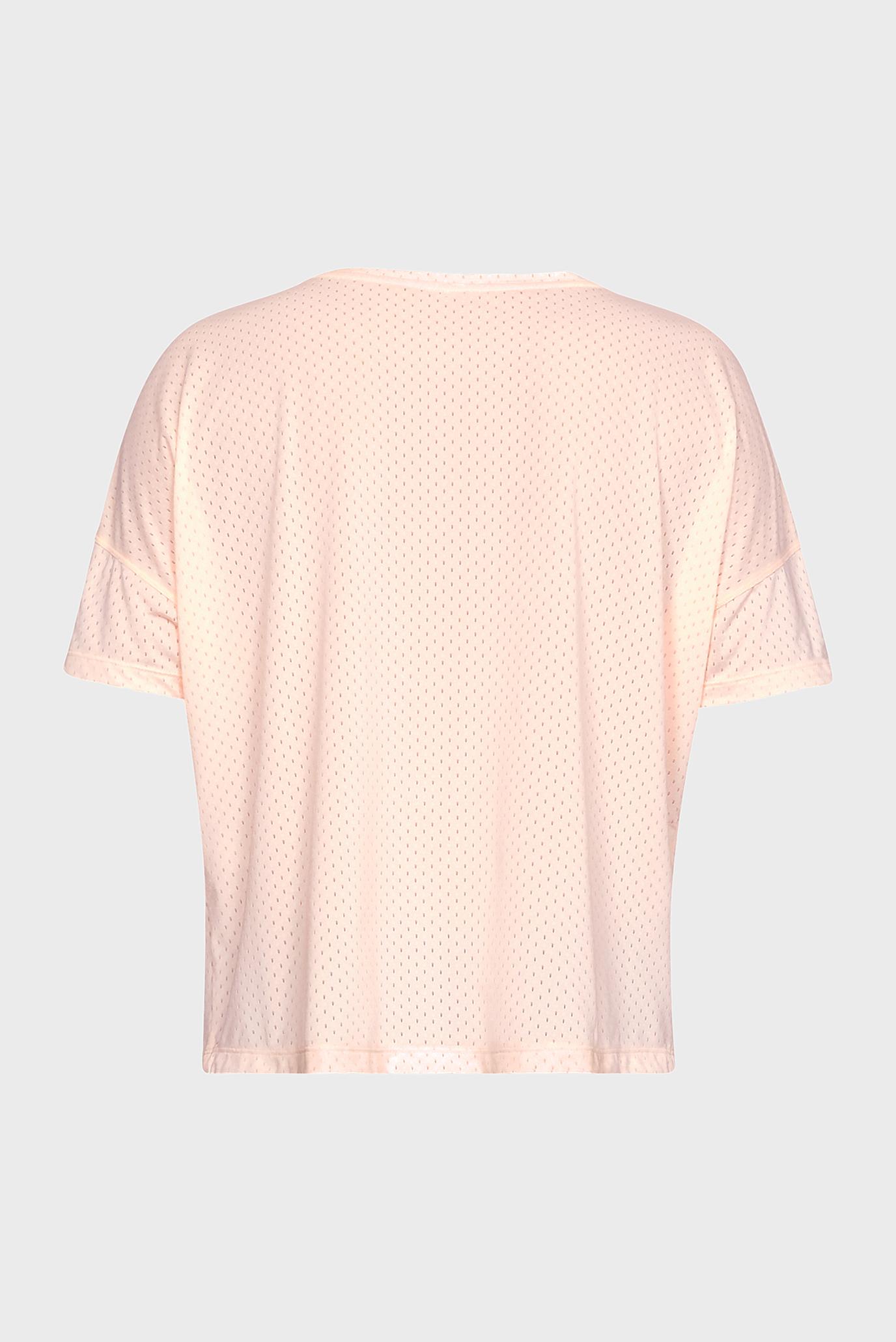 Купить Женская персиковая футболка Armour Sport Mesh Oversized SS Under Armour Under Armour 1330400-805 – Киев, Украина. Цены в интернет магазине MD Fashion