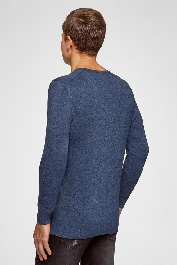 Мужской синий свитер