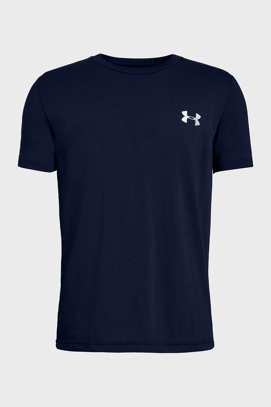 Детская синяя футболка Back Box Graphic SS