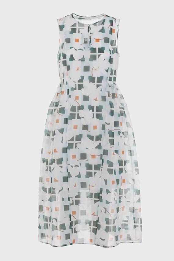 Женское белое платье DRESS