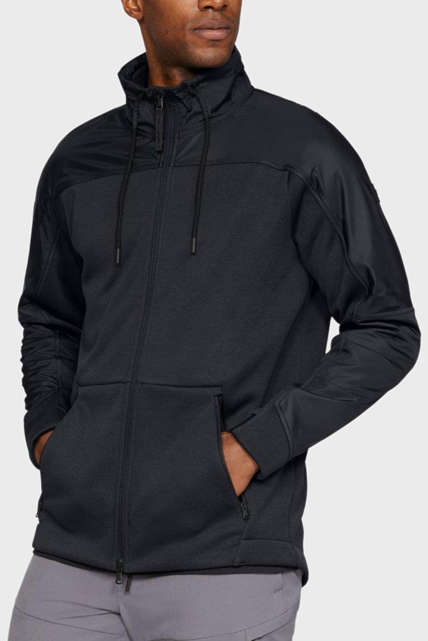 Мужская черная кофта COLDGEAR SWACKET