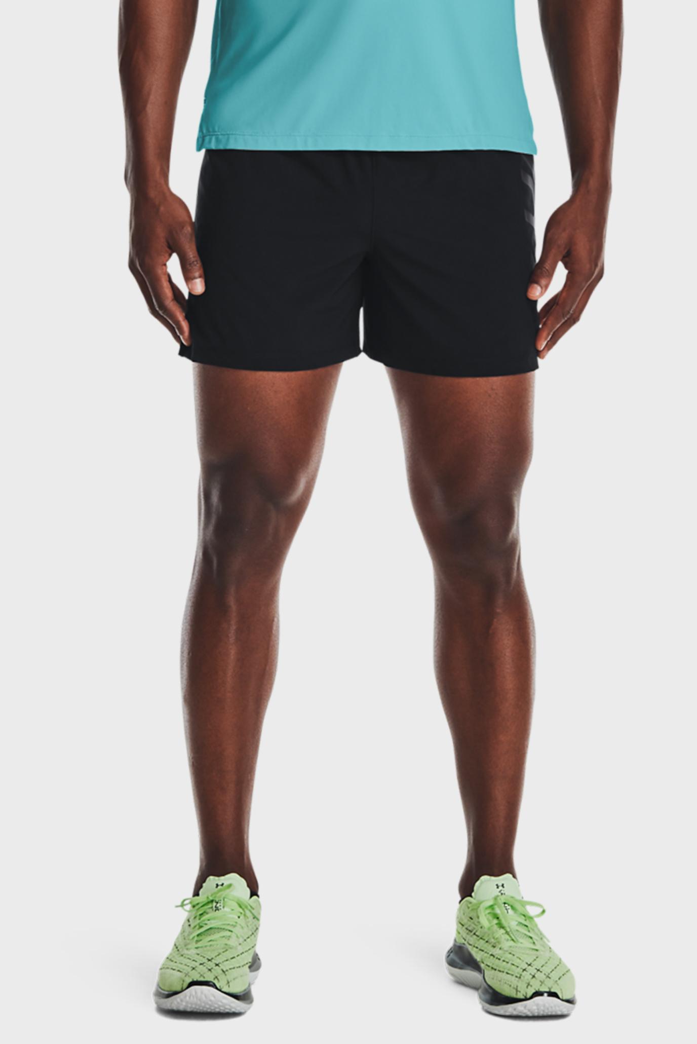Мужские черные шорты UA SpeedPocket 5'' Short-BLK 1