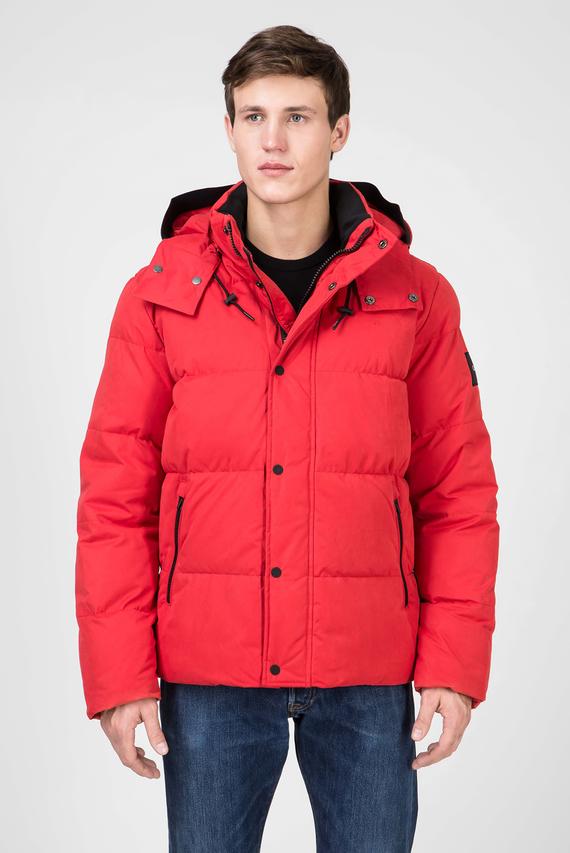 Мужская красная куртка MID LENGTH