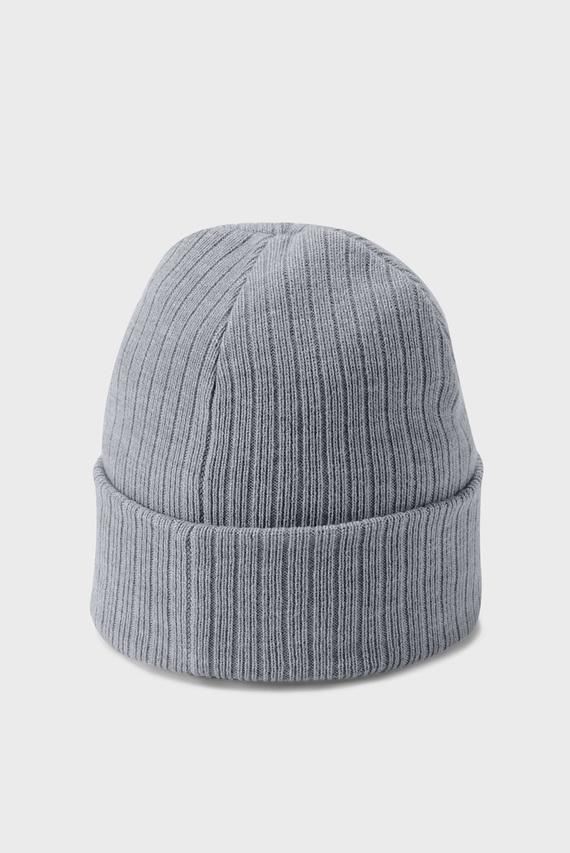 Мужская светло-серая шапка Truckstop Beanie 2.0