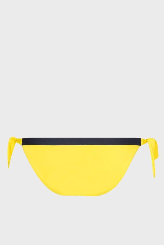 Женские желтые трусики от купальника CHEEKY SIDE TIE BIKINI