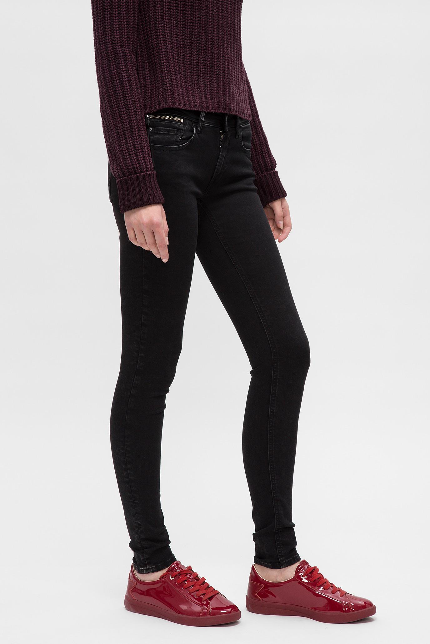 Купить Женские черные джинсы LUZ COIN ZIP Replay Replay WCX689.000.85B 389 – Киев, Украина. Цены в интернет магазине MD Fashion