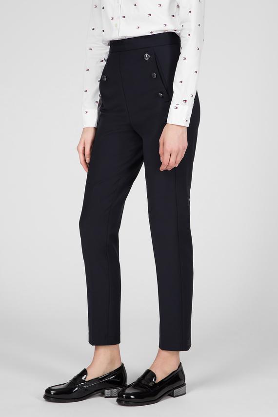 Женские темно-синие брюки LYNN SLIM