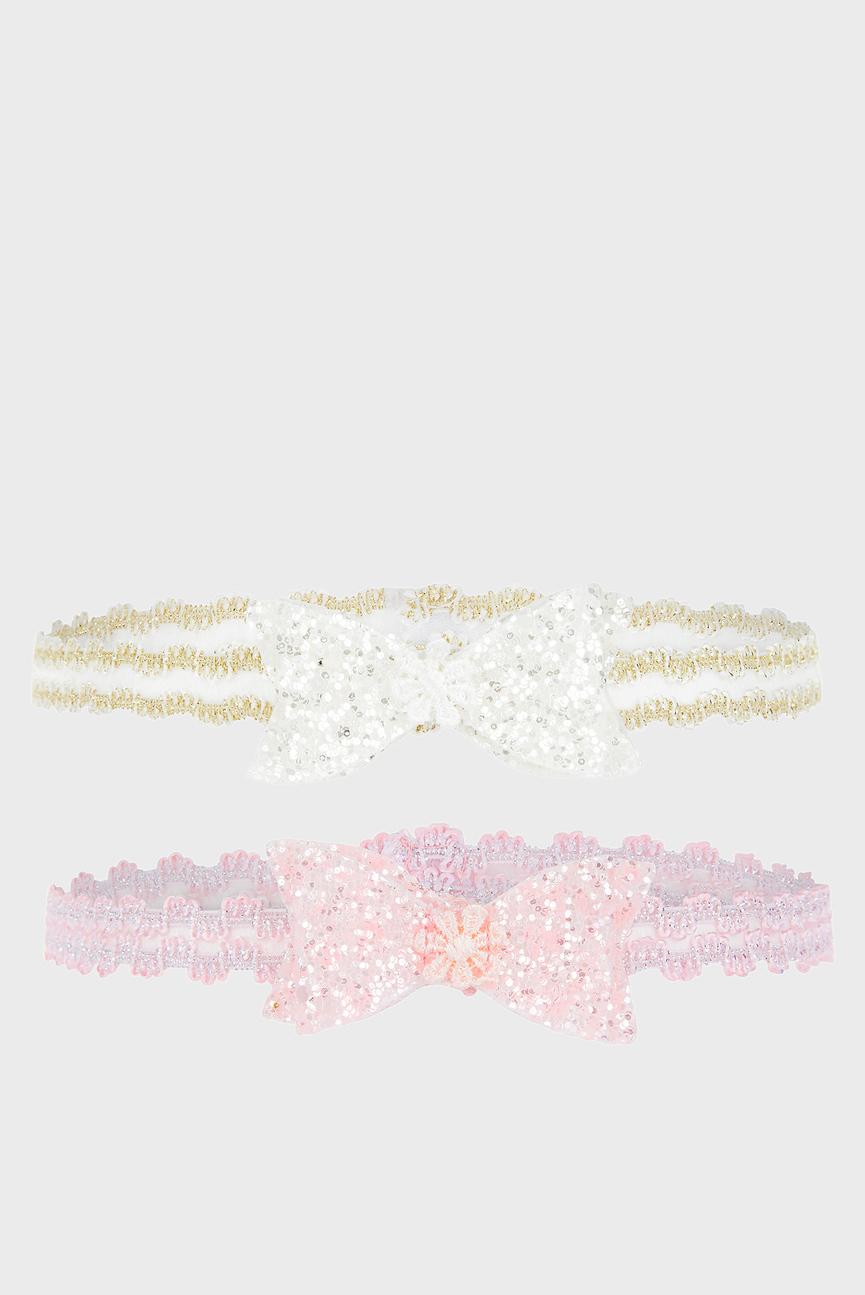 Набор детских повязок Glitter Bow (2 шт)